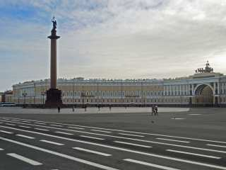 Palastplatz in St. Petersburg